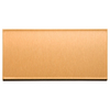 Aspect Metal 6-in Brushed Copper Composite Multipurpose Backsplash
