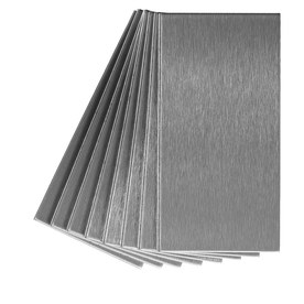 Aspect Metal 3-in x 6-in Stainless Metal Multipurpose Backsplash