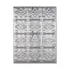 Fasade 18.5-in x 24.5-in Brushed Aluminum Thermoplastic Multipurpose (Kitchen; Bath or Bar) Backsplash
