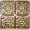 Fasade 18.5-in x 24.5-in Cracked Copper Thermoplastic Multipurpose (Kitchen; Bath or Bar) Backsplash
