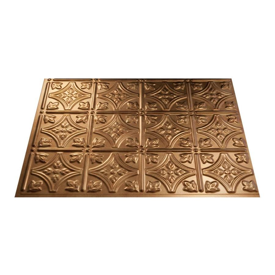 shop fasade 18 5 in x 24 5 in antique bronze thermoplastic