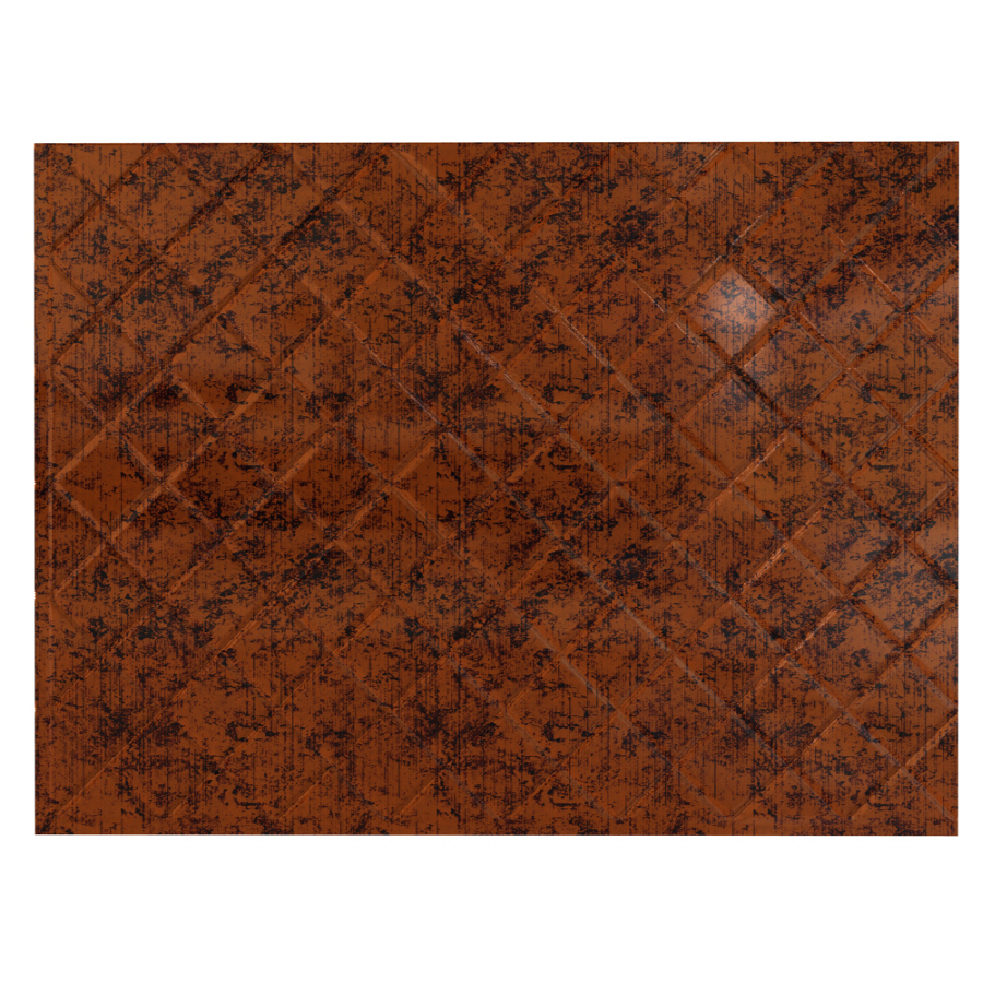 shop fasade 18 5 in x 24 5 in copper thermoplastic