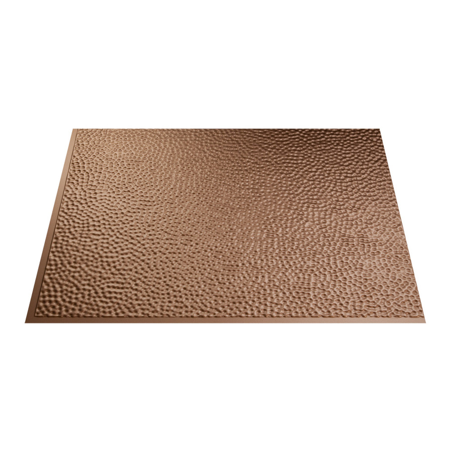 shop fasade 18 5 in x 24 5 in argent copper thermoplastic