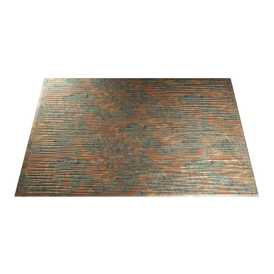 in copper fantasy thermoplastic multipurpose backsplash at