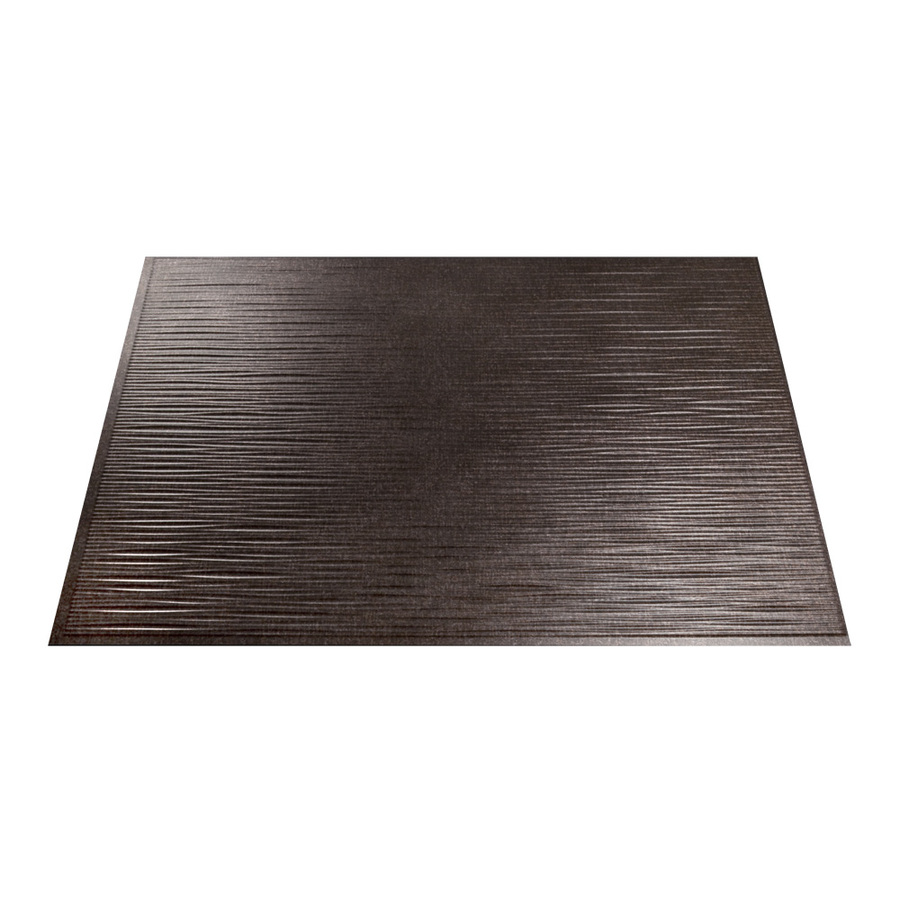 shop fasade 18 5 in x 24 5 in smoked pewter thermoplastic