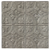 Fasade Ceiling Tile (Actual: 24.25-in x 24.25-in)