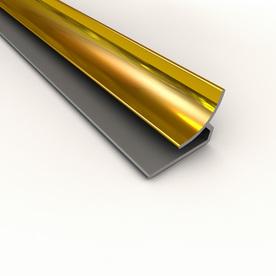 Fasade 18-1/8-in Brass Thermoplastic Multipurpose Backsplash