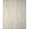 FashionWall 3/16-in x 4-ft x 8-ft Light Gray/Low Gloss Hardboard Wall Panel