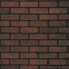 DPI 1/4-in x 4-ft x 8-ft Red Brick/Eggshell Hardboard Wall Panel
