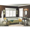 7/16-in x 1-11/16-in x 8-ft White Polystyrene Bed Moulding