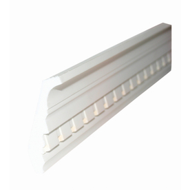 5/8-in x 3-3/4-in x 8-ft White Crown Moulding
