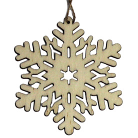 Holiday Living Wood Ornament