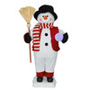 Holiday Living Polyester Lighted Animated Snowman Christmas Collectible