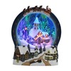Holiday Living Resin Lighted Musical Animatronic Santa Carousel Christmas Collectible