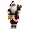 Holiday Living Polyester Lighted Musical Animated Santa Christmas Collectible