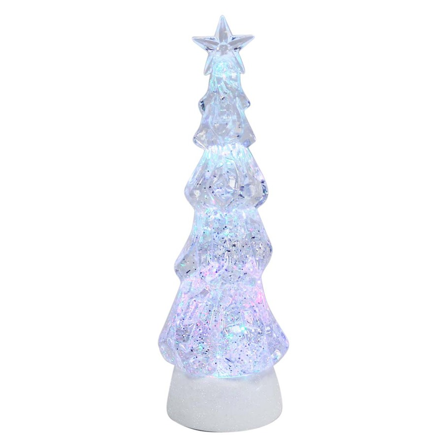 Shop holiday living tabletop tree indoor christmas for Inside christmas decorations