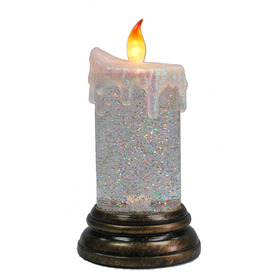 "Holiday Living 7-3/8"" 2-Light LED Electric Candle"