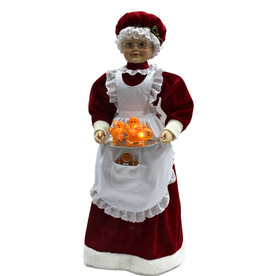 Holiday Living Animatronic Musical Polyester Tabletop Figurine with Lights