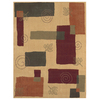 Shaw Living 8-ft x 10-ft Gold Pond Area Rug