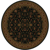 Shaw Living 7-ft 7-in Round Onyx Palace Kashan Area Rug