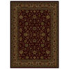 Shaw Living 129-in x 7-ft 8-in Burgundy Palace Kashan Area Rug