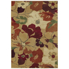 Shaw Living 5-ft x 8-ft Gold Paradise Area Rug