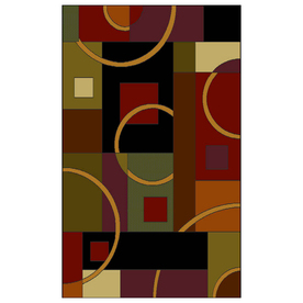 Shaw Living Pulsar Rectangular Indoor Woven Area Rug (Common: 5 x 8; Actual: 65-in W x 92-in L)