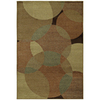 Shaw Living 8-ft x 10-ft Gold Radius Area Rug