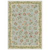 Shaw Living 7-ft 9-in x 10-ft 11-in Blue Summer Flowers Area Rug