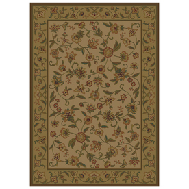 Shaw Living Alice Rectangular Indoor Woven Area Rug (Common: 5 x 8; Actual: 63-in W x 94-in L)