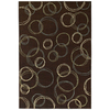 Shaw Living Ashford Park 93-in x 130-in Rectangular Brown/Tan Geometric Area Rug