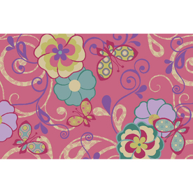 Shaw Living Sweet Quilt Rectangular Multicolor Accent Rug