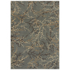 Shaw Living Berries 63-in x 94-in Rectangular Blue Transitional Area Rug