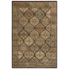 Shaw Living Aragon 63-in x 94-in Rectangular Multicolor Border Area Rug