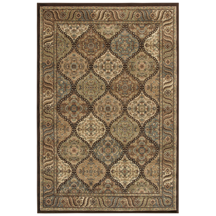Shop shaw living 9 39 x 12 39 multicolor aragon area rug at - Shaw rugs discontinued ...