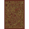 Shaw Living Paisley Park 110-in x 12-ft Rectangular Red Transitional Area Rug
