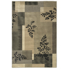 Shaw Living 7-ft 10-in x 10-ft 10-in Black Sausalito Area Rug
