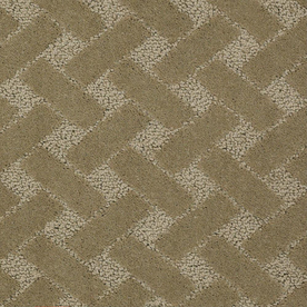 STAINMASTER Active Family Crowning Glory Seafoam Berber Indoor Carpet