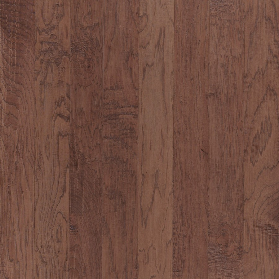 Shop shaw dakota hickory 5 in w prefinished hickory for Prefinished flooring