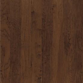 Shaw Dakota Hickory 5-in W Prefinished Hickory Engineered Hardwood Flooring (Cashmere)