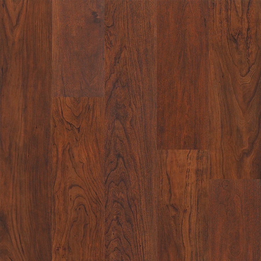 Shop style selections spiced cherry handscraped laminate for Cherry laminate flooring