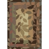 Shaw Living Canopy 7-ft 10-in x 10-ft 10-in Rectangular Tan Transitional Area Rug
