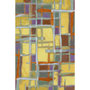 Shaw Living Carnivale 65-in x 92-in Rectangular Multicolor Transitional Area Rug