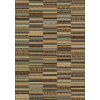 Shaw Living Lodge Quilt 9-ft 2-in x 12-ft Multicolor Lodge Area Rug