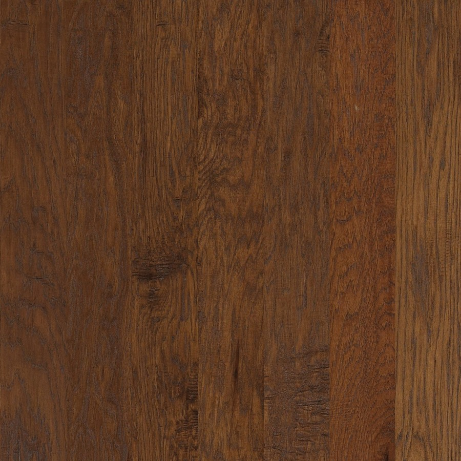 Shop shaw random in w prefinished hickory engineered for Prefinished flooring