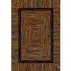 allen + roth Ikat 7-ft 8-in x 10-ft 10-in Rectangular Multicolor Border Area Rug
