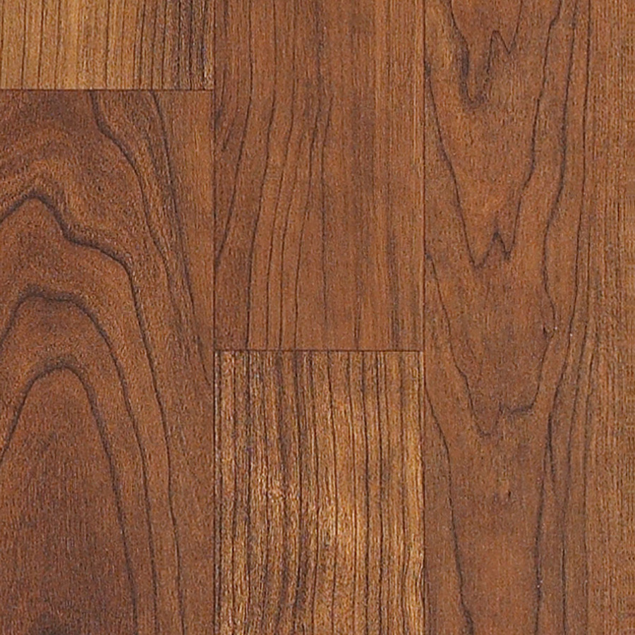 Style Selections 7.99-in W x 3.96-ft L Canyon Cherry Embossed Laminate ...