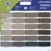 Shaw Multicolor Polyester Texture Carpet Sample