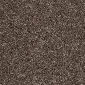 STAINMASTER Essentials Stock Carpet Brown Textured Indoor Carpet