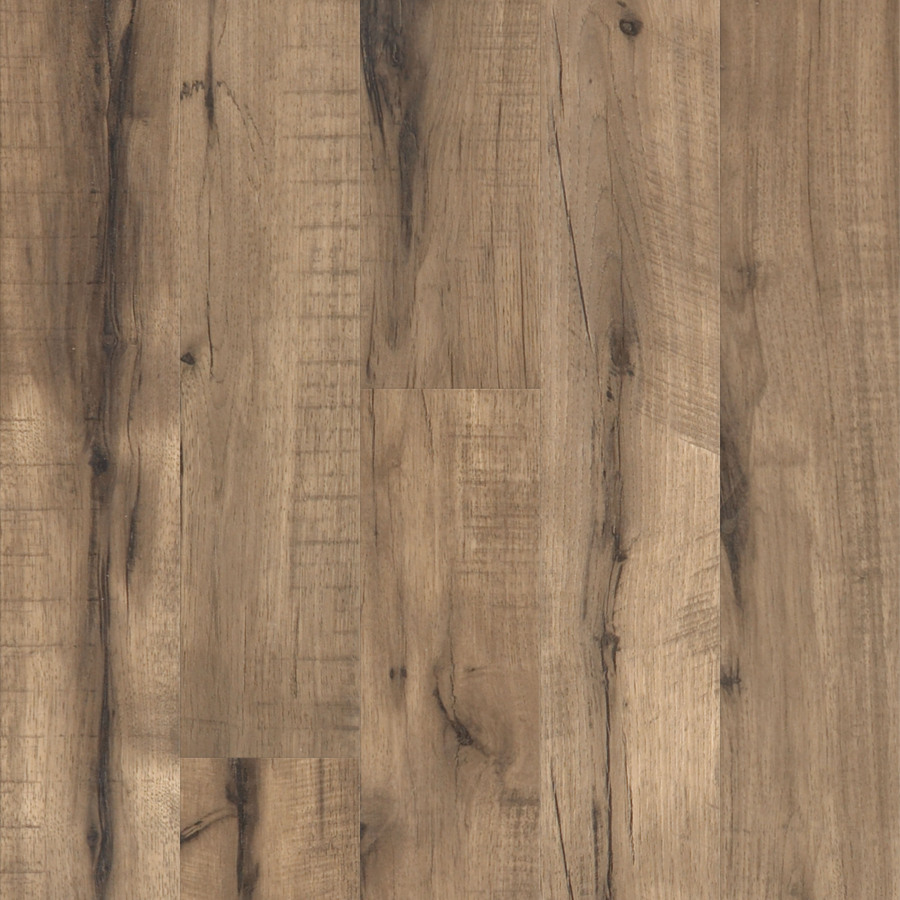 ... in W x 3.976-ft L Pecan Handscraped Laminate Wood Planks at Lowes.com